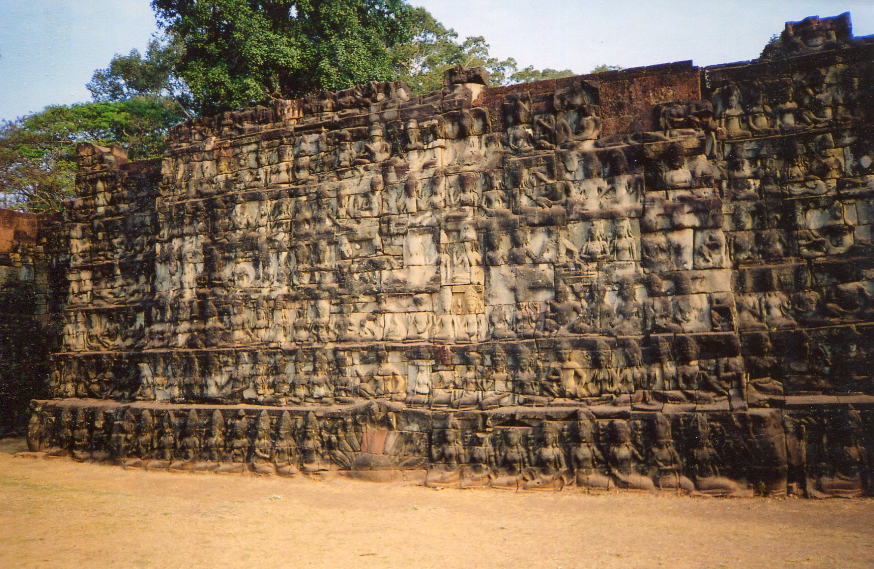 the leper king terrace the khmer kings search for glory