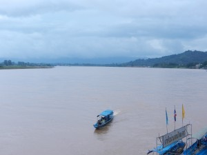 The Mekong River by Chiang Saen, Thailand.