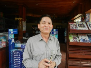 A friendly spirit in Luang Prabang, Laos.